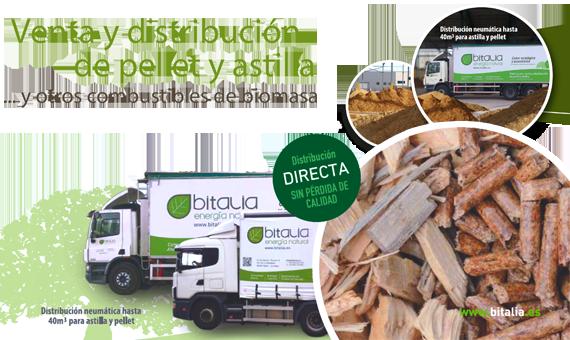 Distribución de Pellets y Astilla Bitalia